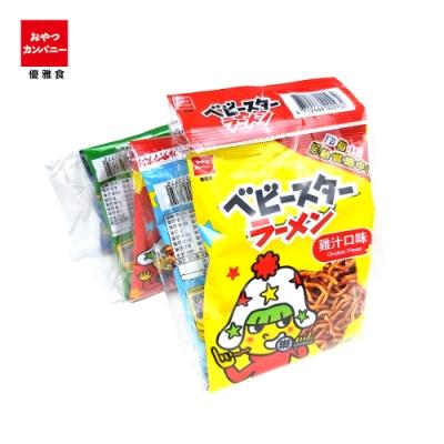 OYATSU優雅食 星太郎點心麵-小雞汁串裝(20gx5入)