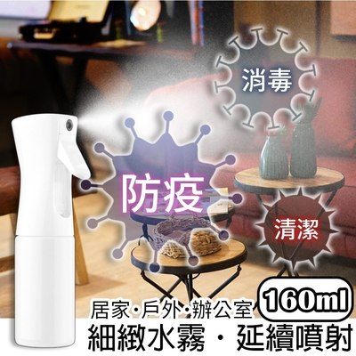 Viita 防疫清潔超細霧連續高壓噴霧瓶/消毒液分裝瓶 160ml