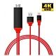 法拉利Type C 轉HDMI數位4K影音轉接線(可充電版) product thumbnail 1