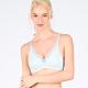 黛安芬-自在嚴選系列 無痕無鋼圈 B-C全罩杯內衣 珍珠藍 product thumbnail 1