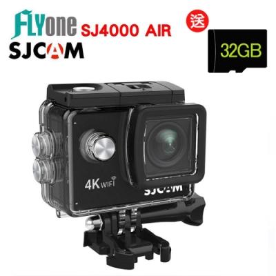 FLYone SJCAM SJ4000 AIR 4K WIFI防水型運動攝影/相機-急