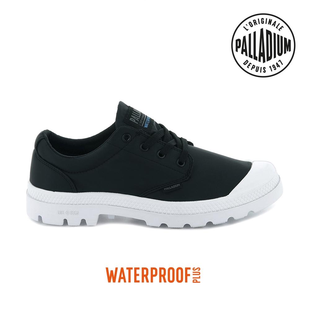 PALLADIUM PAMPA OX PUDDLE LT+WP輕量防水靴-中性-黑/白