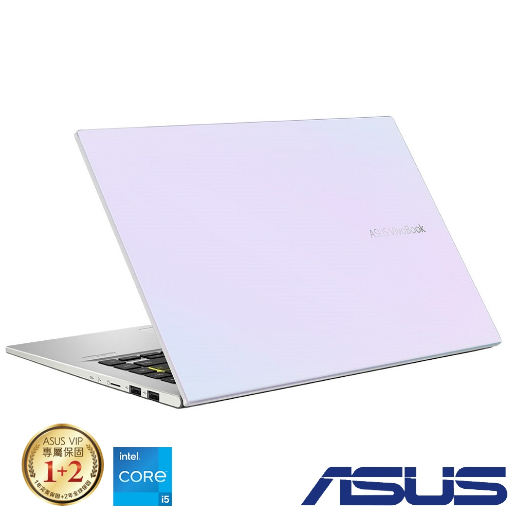 ASUS X413EA 14吋筆電 (i5-1135G7/8G/512GB SSD/VivoBook 14/幻彩白)