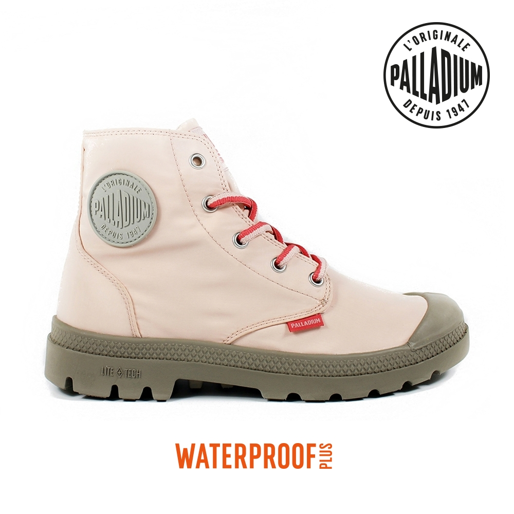 PALLADIUM PAMPA PUDDLE LITE+ WP+輕量防水靴-中性-粉紅