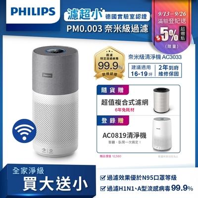 奈米級空氣清淨機 AC3033/83