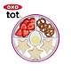 美國OXO tot 好吸力分隔餐盤-莓果粉 product thumbnail 1
