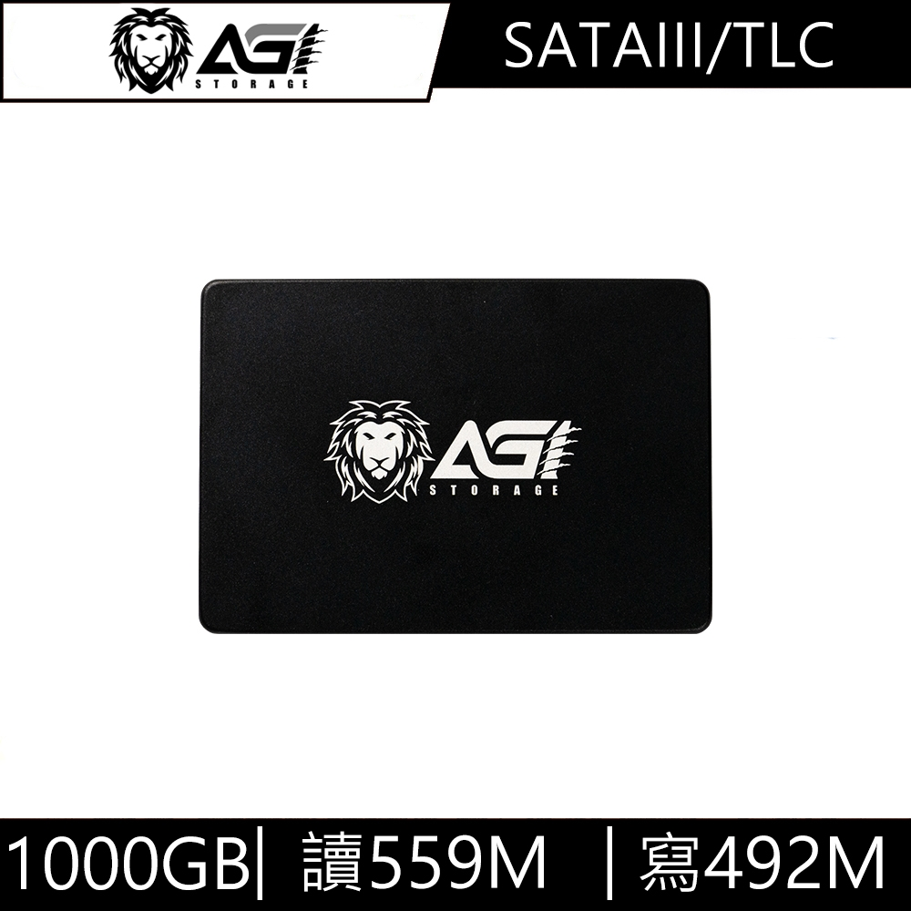AGI亞奇雷 AI238 1000GB 2.5吋 SATA3 SSD 固態硬碟