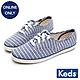 Keds CHAMPION 橫條紋帆布休閒鞋-藍 product thumbnail 1