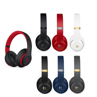 Beats Studio3 Wireless 耳罩式藍牙耳機(原廠公司貨)黑包裝