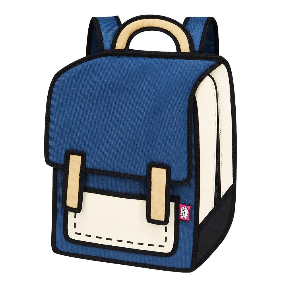 JumpFromPaper 2D包 經典藍色宇宙包 後背包 電腦包