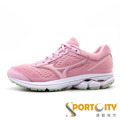 MIZUNO RIDER 女慢跑鞋 粉 J1GD183165