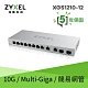 Zyxel 合勤 XGS1210-12 12埠 Multi-Giga 網頁式 簡易 智慧型網路管理交換器  GbE 10Gbe  變速  超高速 乙太網路  鐵殼 SFP 光纖埠 product thumbnail 1