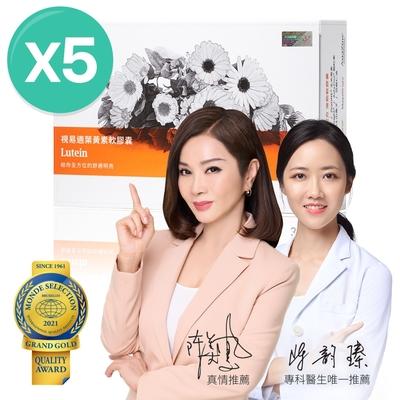 【大研生醫】視易適葉黃素(30粒)x5