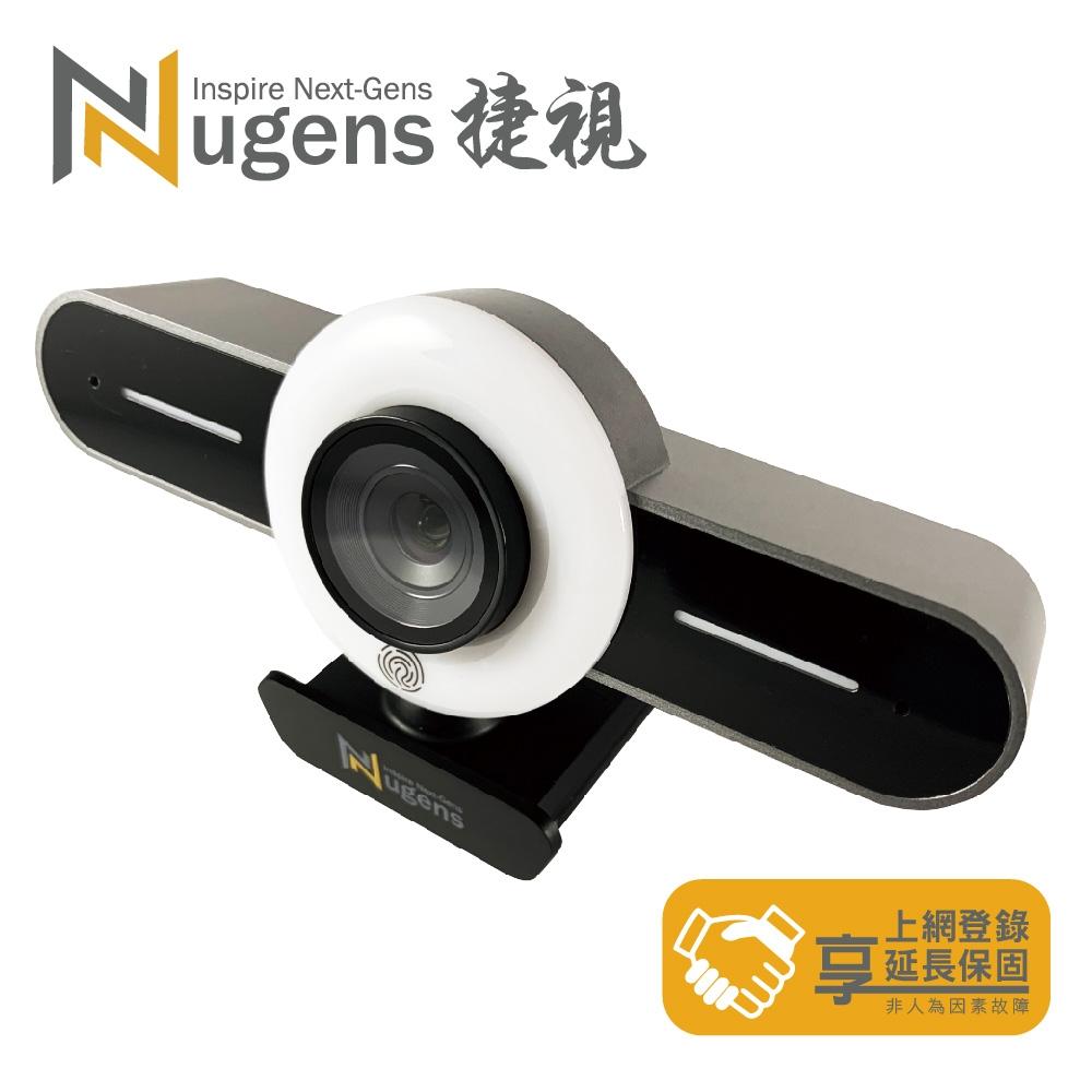 Nugens VCP1 HD1080P大眼仔環形補光 網路直播視訊攝影機