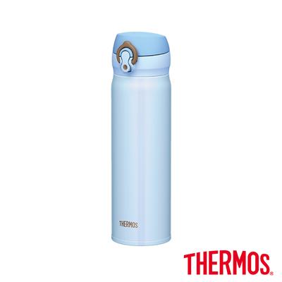 [買大送小,平均一支800]THERMOS 膳魔師不鏽鋼真空保溫瓶0.5L(JNL-500)-SAX(薩克斯藍)