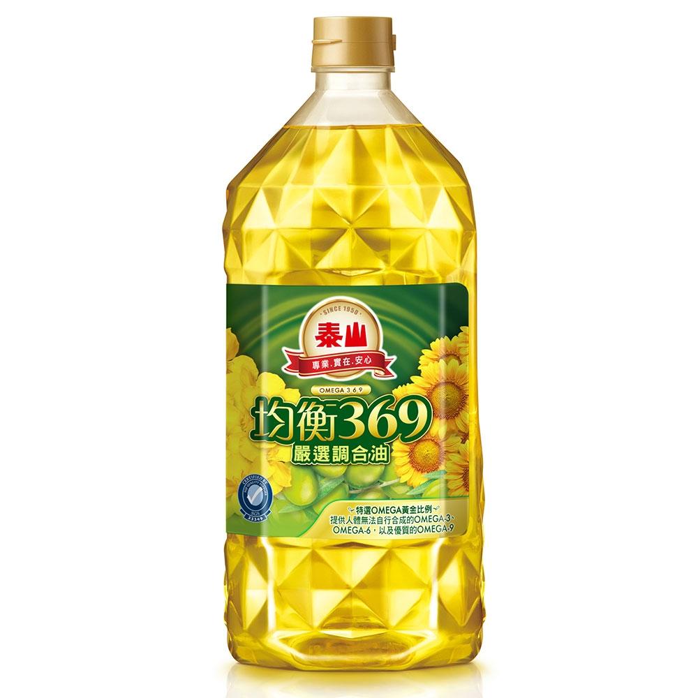 泰山 均衡369嚴選調合油(2L)
