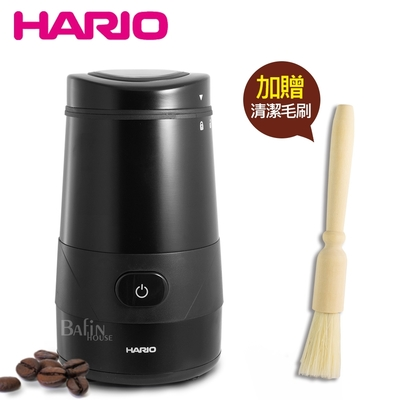 HARIO 普羅佩拉電動磨豆機(附贈 木柄毛刷)