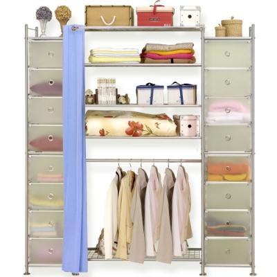 巴塞隆納-W 5 + 2 D型 90 公分衣櫥櫃