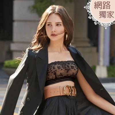瑪登瑪朵 S-Select 平口抹胸內衣(黑)