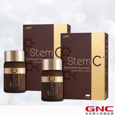 GNC健安喜 2入組 LAC StemC 馬胎盤膠囊 30顆/盒