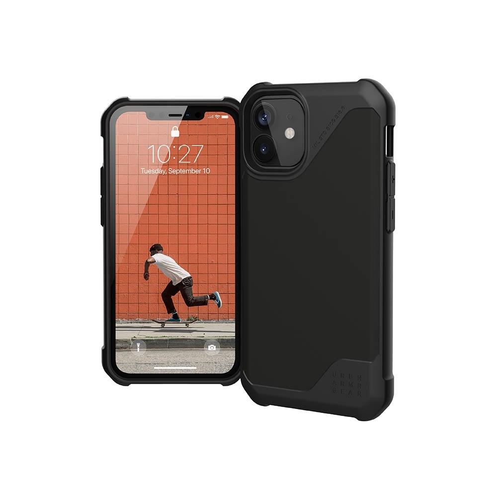 UAG iPhone 12 mini 耐衝擊保護殼-極簡黑