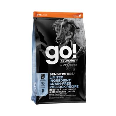 Go! 低致敏鱈魚 全犬無穀配方 6磅