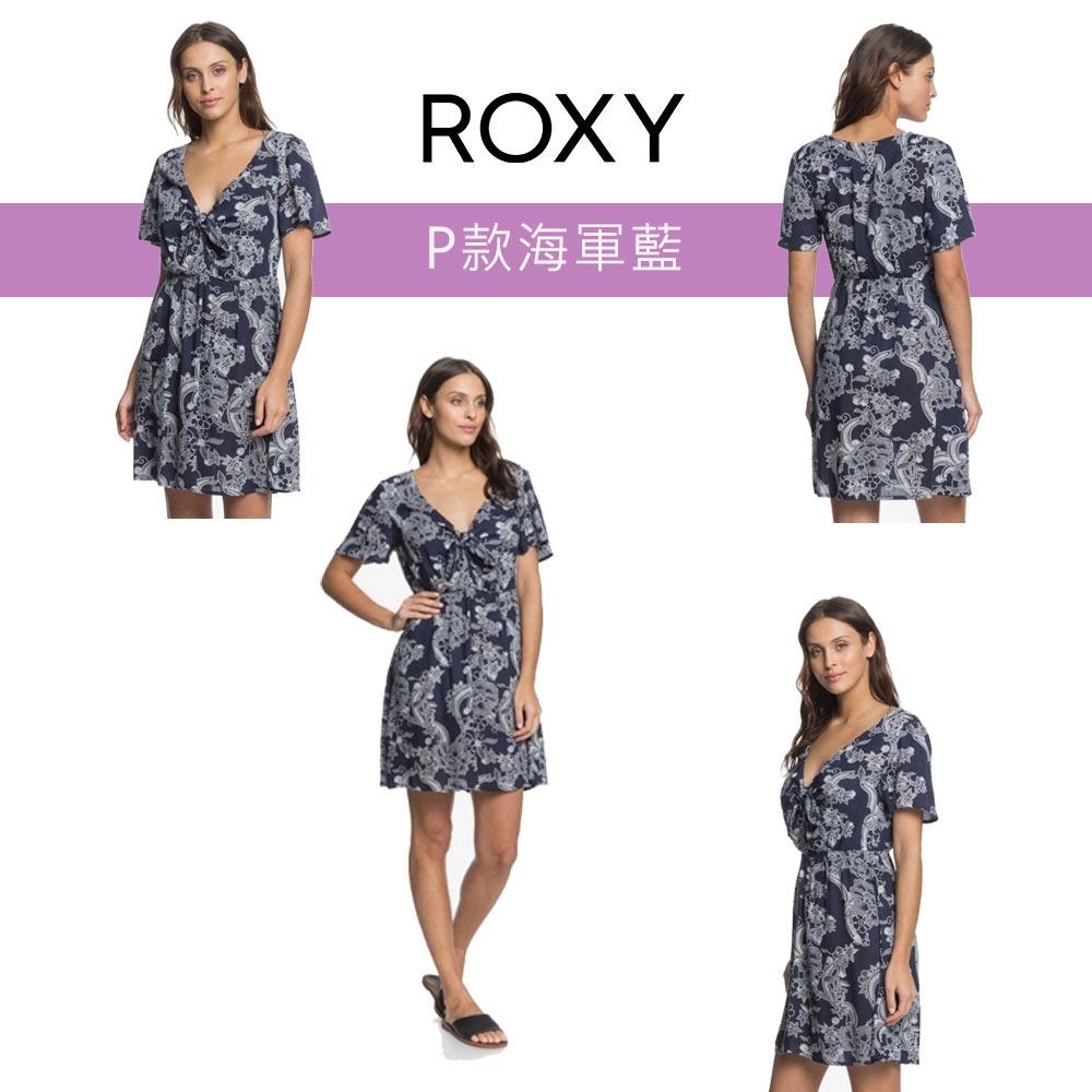 【獨家39折起】ROXY精選女裝/洋裝$888 (任選) (尺寸XS-M) (P款-海軍藍)