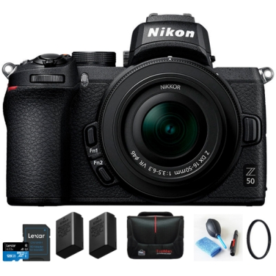 【雙原電】Nikon Z50 KIT 16-50mm VR 變焦鏡組 (公司貨)