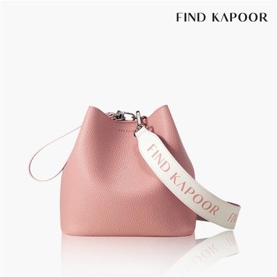 【FIND KAPOOR】PINGO 20 BASIC 字母系列水桶包 粉紅 (Oliva Palermo款)