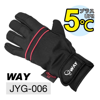 WAY JYG-006 可觸控手機平板、透氣、保暖、防風、防滑、防水、耐寒手套