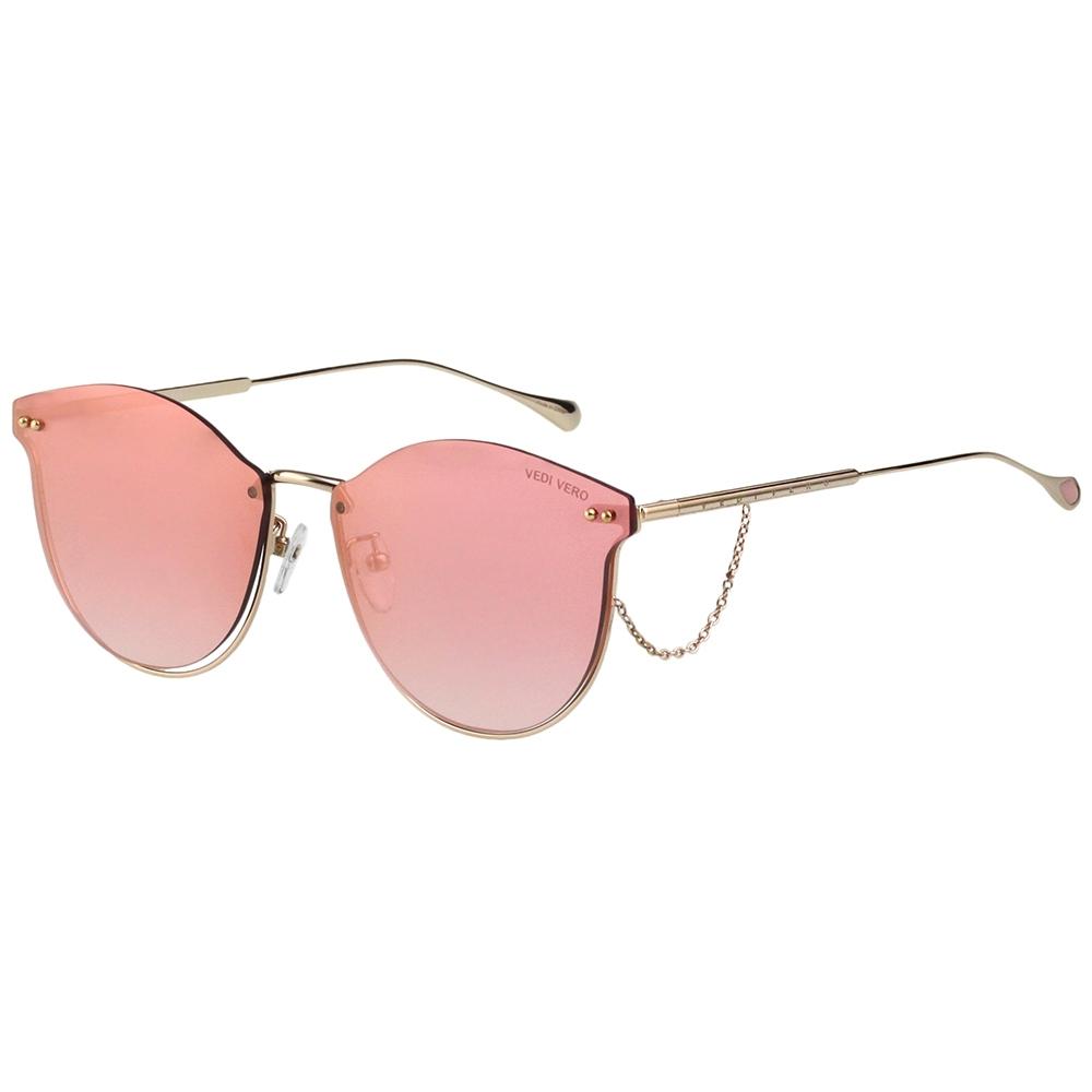 VEDI VERO  水銀面 太陽眼鏡 (粉色)