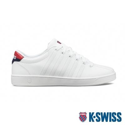 K-SWISS Court Pro II CMF時尚運動鞋-女-白/藍/紅