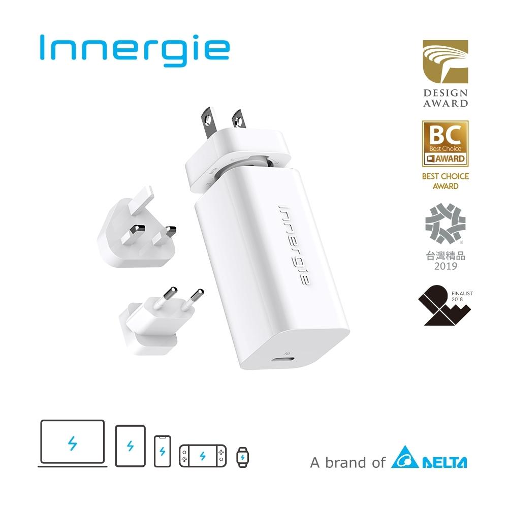 Innergie 60C Pro (國際版) 60瓦USB-C萬用充電器