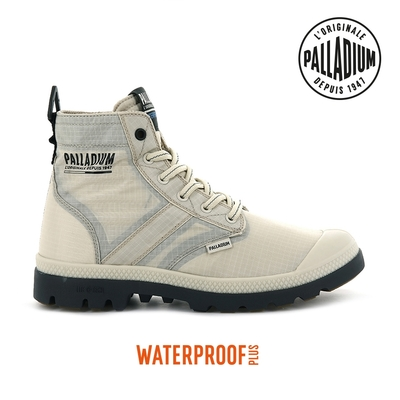 PALLADIUM PAMPA LITE+ VAPOR WP+輕量防水靴-中性-沙漠色