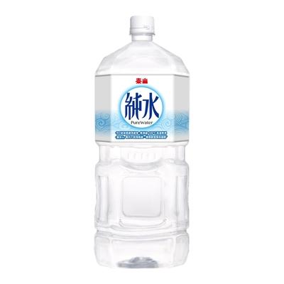 泰山 純水(2500mlx6入)