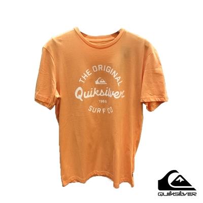 【 QUIKSILVER】EYE ON THE STORM SS T恤 粉橘
