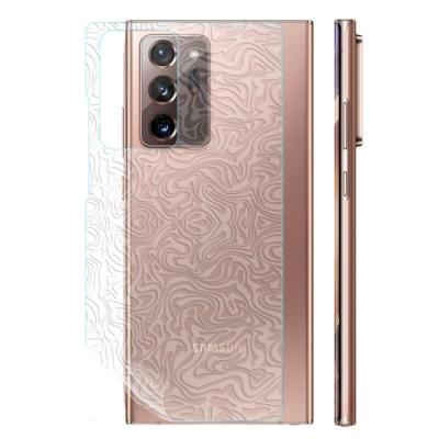 o-one大螢膜PRO 三星Samsung Galaxy Note20 Ultra 5G 滿版手機背面保護貼-水舞款
