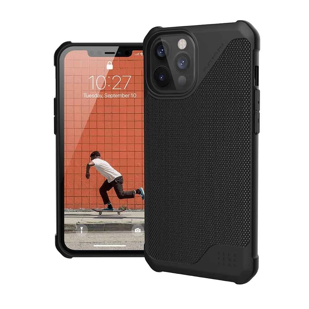 UAG iPhone 12 Pro Max 耐衝擊保護殼-軍用黑