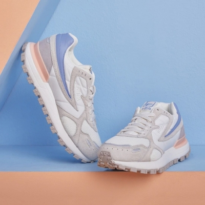 FILA ZAGATO 復古運動鞋-粉藍 4-C124V-912