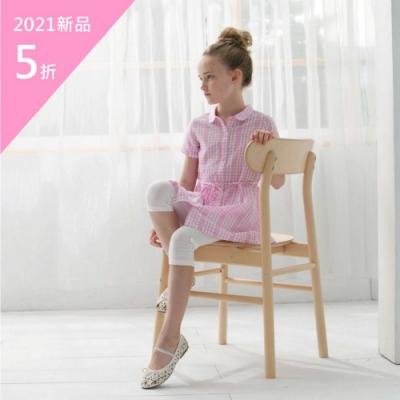 PIPPY夢幻格子襯衫繫帶洋裝-粉