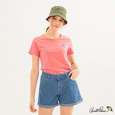 Arnold Palmer -女裝-小傘LOGO TEE-粉紅色