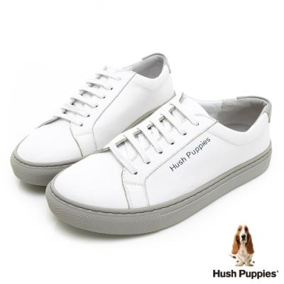 Hush Puppies Serendipity 綁帶女休閒鞋-白色