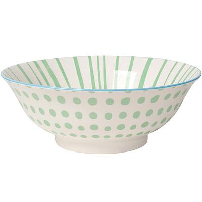 NOW 圖騰餐碗(綠點)
