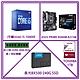 Intel i5-10400F+ASUS PRIME B560M-K/CSM+金士頓 DDR4-2666 8GB+美光 BX500 240G SSD+TOSHIBA 1TB內接硬碟 product thumbnail 1