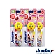 Jordan emoji兒童牙刷2入組6-9歲Girl款*3組 product thumbnail 2