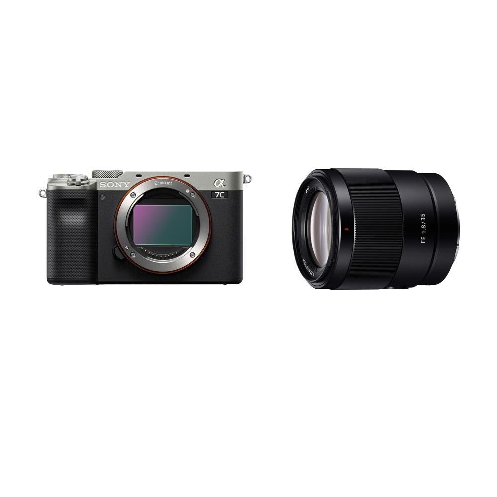SONY A7C 標準街拍組 FE 35mm F1.8 (ILCE-7C+SEL35F18F) (公司貨)