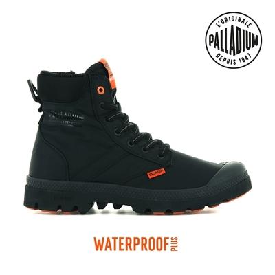 PALLADIUM PAMPA LITE+ SC VAPOR WP+輕量拉鍊防水靴-中性-黑