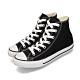 CONVERSE ALL STAR 男女款 高筒帆布鞋-黑 M9160C product thumbnail 1