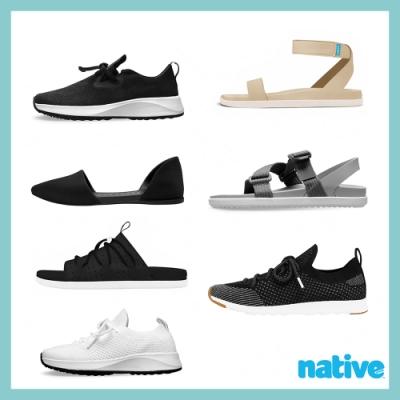 [時時樂限定價]native休閒涼鞋-20款任選799