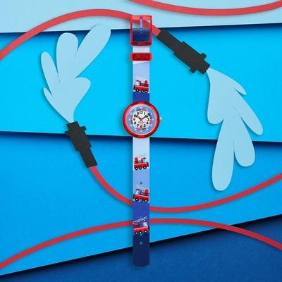 FlikFlak 兒童錶 FIRETRUCK -31.85mm